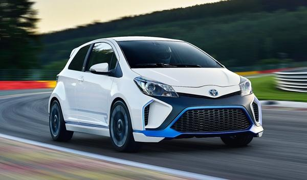 Toyota Yaris Hybrid-R Concept frontal