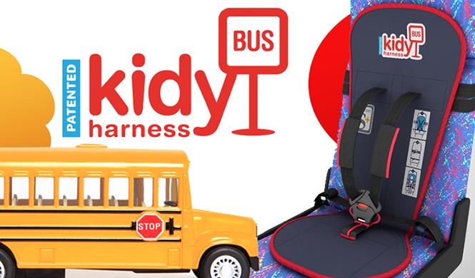 Kidy Bus Harness, una silla infantil para el autobús