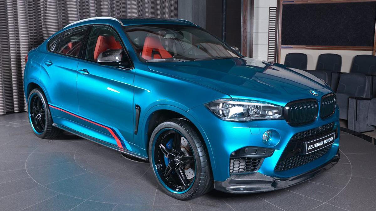 BMW X6 M personalizado