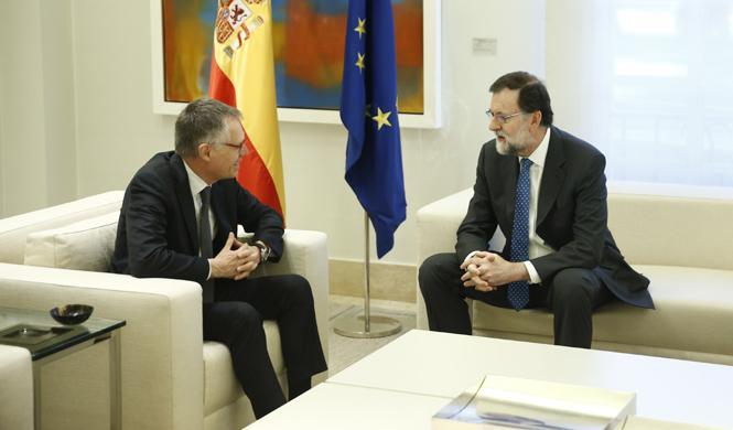 El presidente de PSA se reúne con Mariano Rajoy