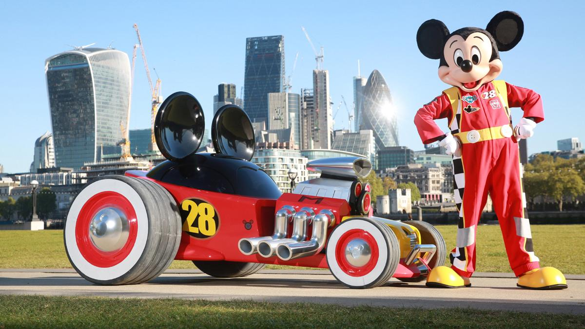 coche Mickey Mouse