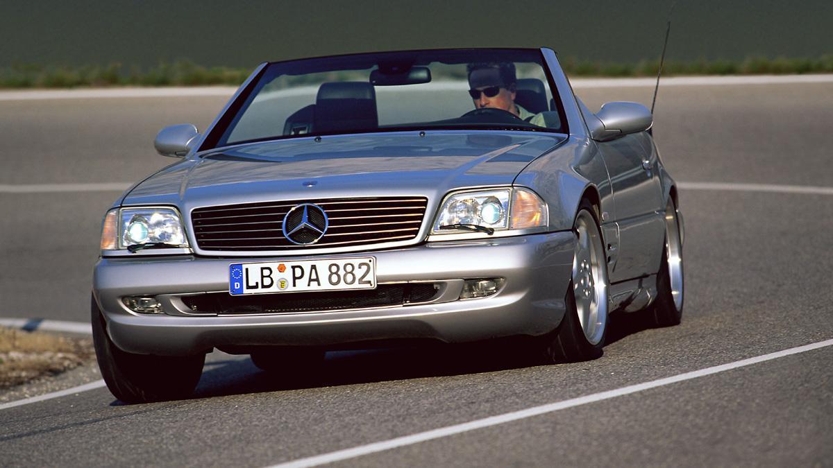 Mercedes SL 73 AMG