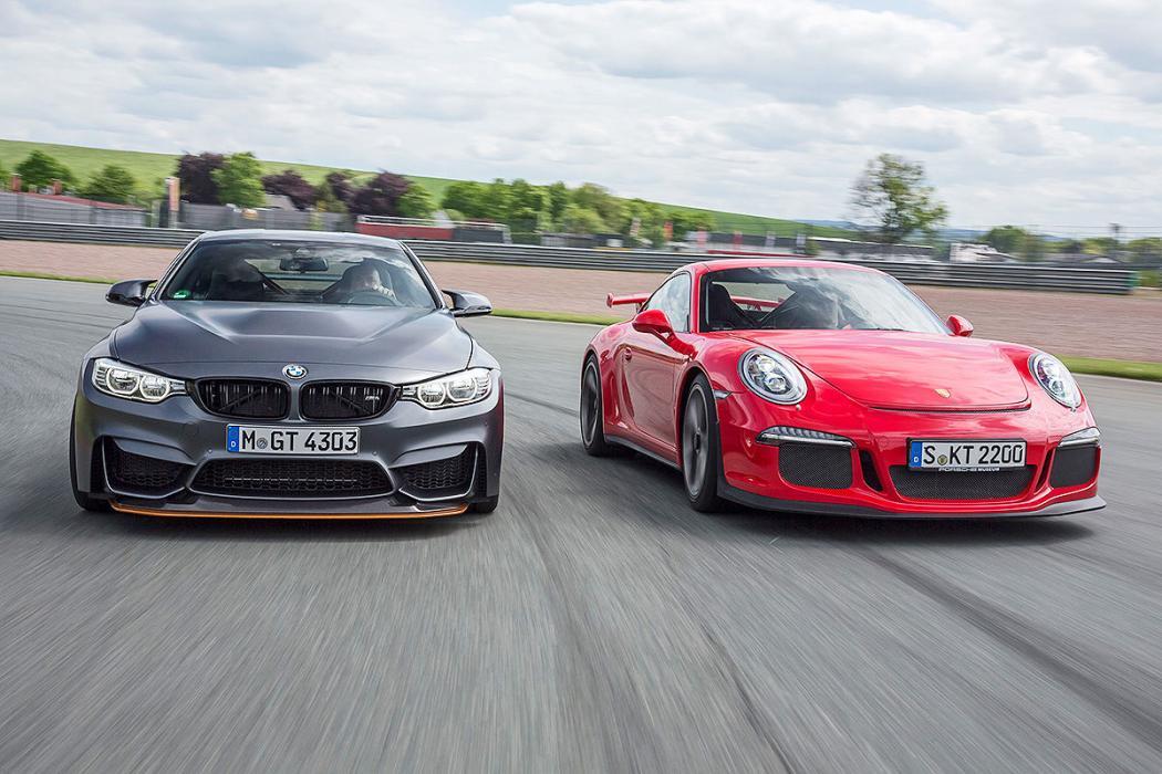 Cara a cara: BMW M4 GTS vs Porsche 911 GT3