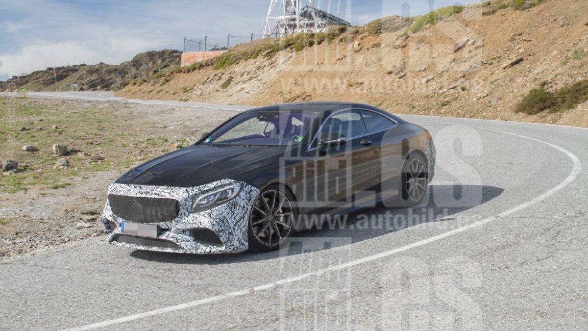 Mercedes-AMG S63 Coupé 2018