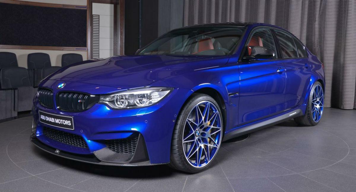BMW M3 San Marino Blue