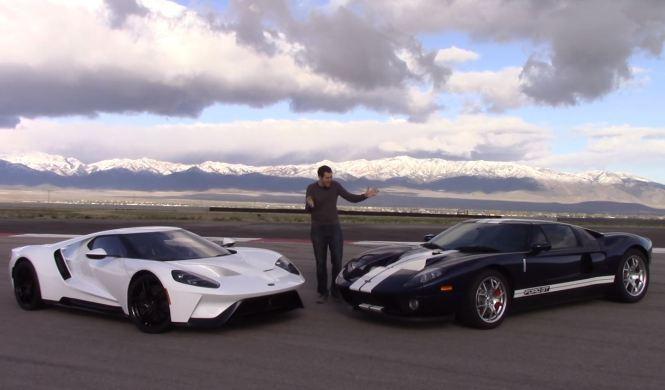 Vídeo: Doug DeMuro compara el Ford GT 2017 y su predecesor