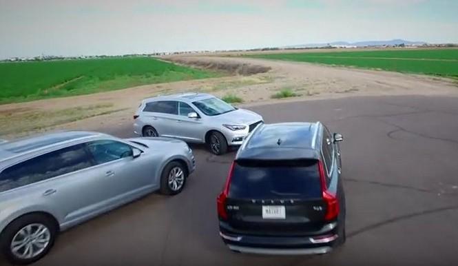 A examen cinco de los mejores SUV medios de gama alta