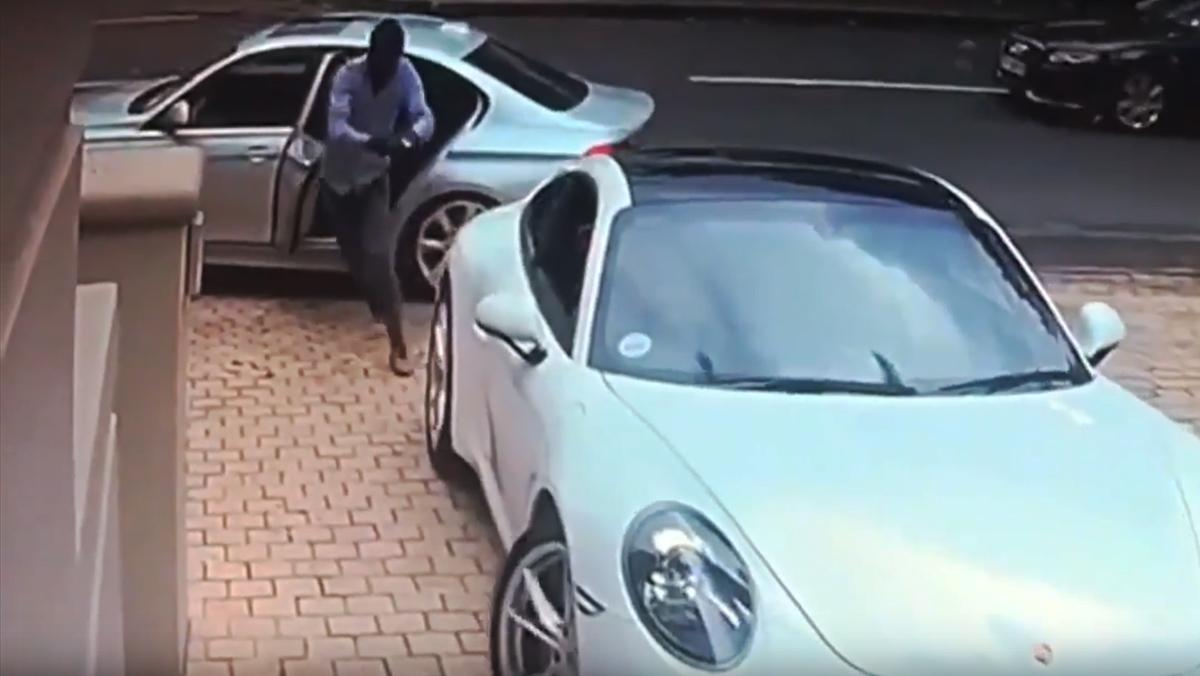 El robo viral de Porsche
