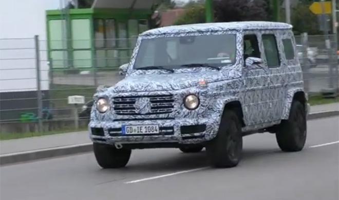 Mercedes Clase G 2018: cazado por fuera y por dentro