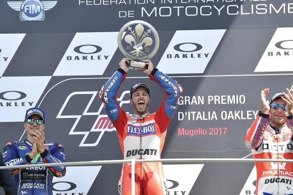 El domingo negro de Andrea Dovizioso que terminó en éxtasis