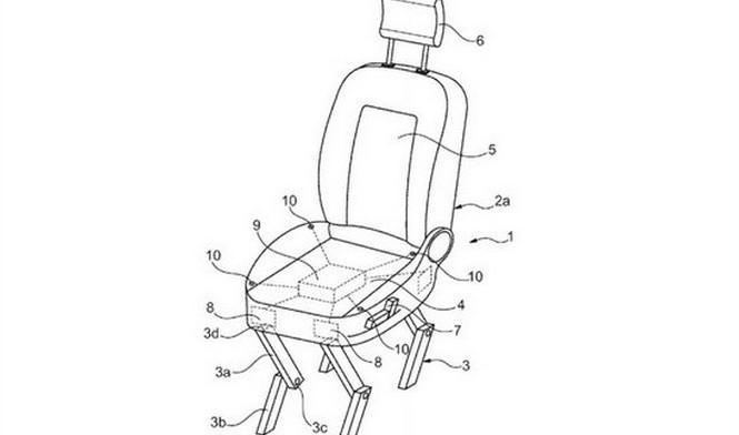 Ford inventa un asiento para usar fuera del vehículo