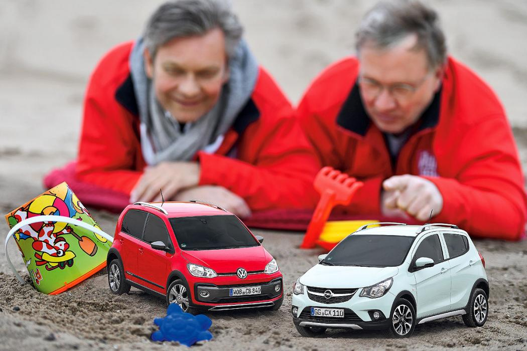 Opel Karl Rocks contra VW Cross Up