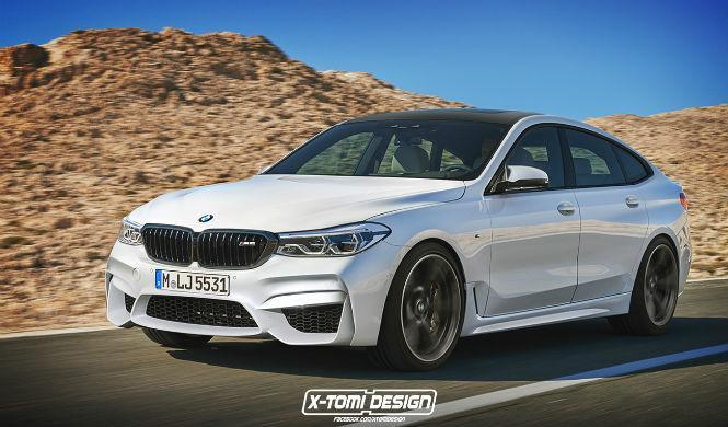 Así sería el BMW Serie 6 GT M