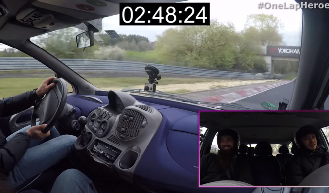 Vídeo: así ataca un Fiat Multipla en Nürburgring