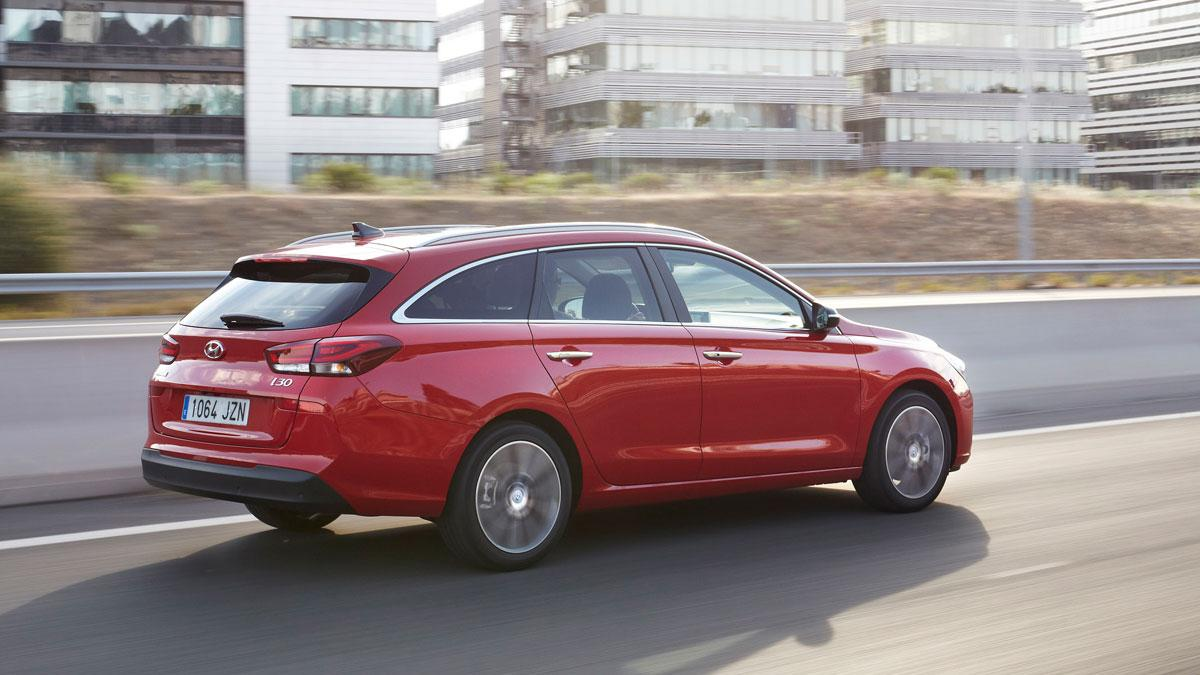 Hyundai i30 Crosswagon dinamica perfil