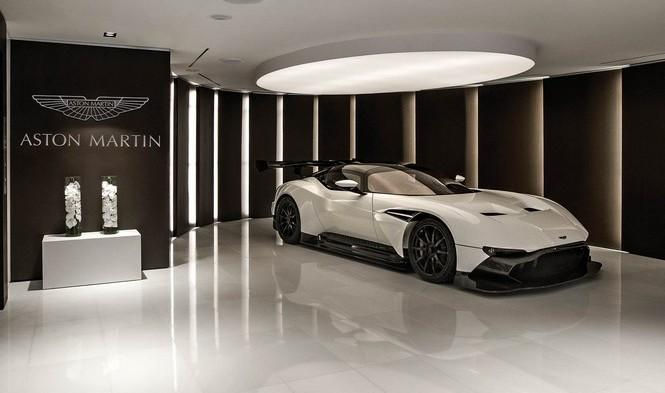 El edificio de Aston Martin en Miami