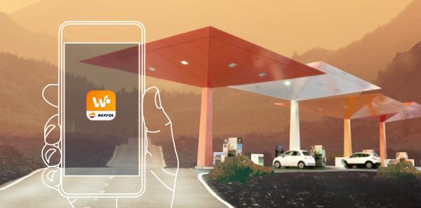 ¿Pagar la gasolina sin dinero? ¿sin bajarte del coche? ¡SÍ!