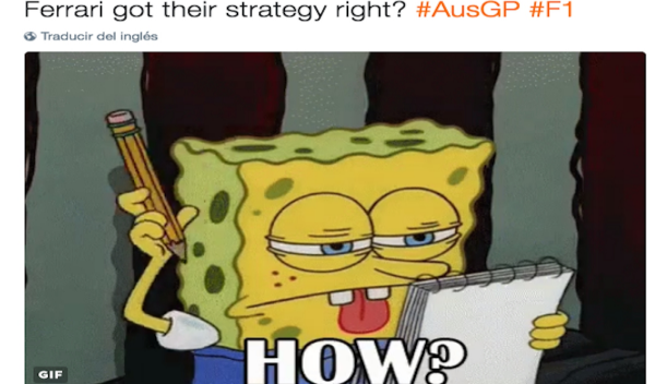 Los 10 mejores 'memes' del GP de Australia 2017