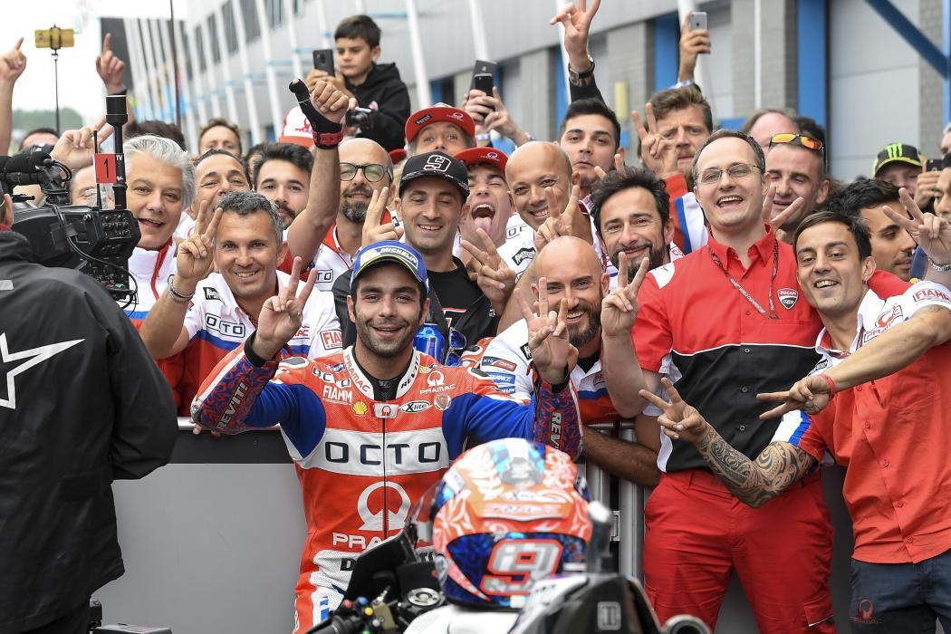 Petrucci seguirá en Pramac con contrato oficial de Ducati