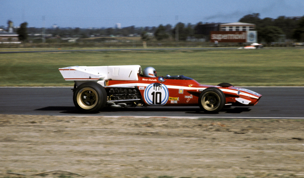 La aleta de tiburón no es nueva en la Fórmula 1