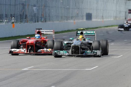 Alonso - Hamilton - Canada