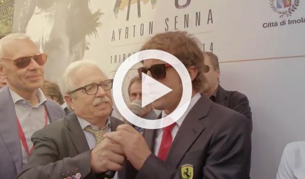Alonso homenaje Senna Ímola