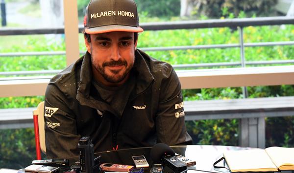 """Alonso: """"parece que tengo una depresión, pero no es así"""""""