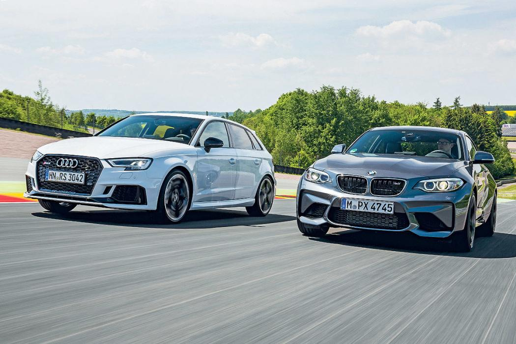 Audi RS 3 vs BMW M2