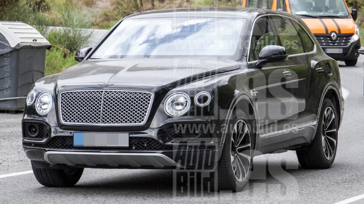Bentley Bentayga Plug-In Hybrid