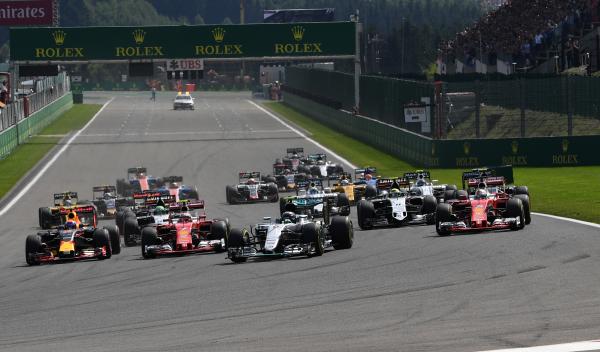 Calendario Fórmula 1 2017