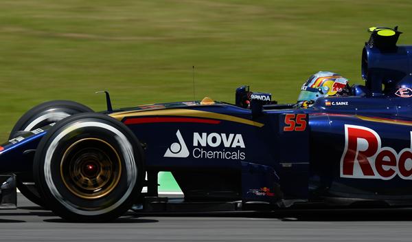 Carlos Sainz abandona en la primera vuelta del GP de Brasil
