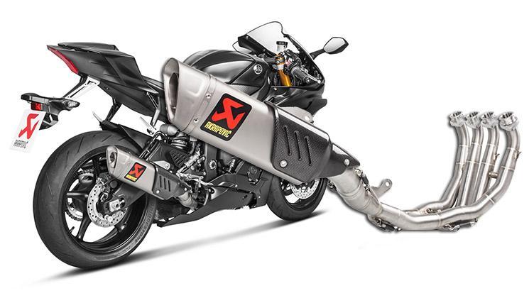 Escape Akrapoviç para la Yamaha YZF-R6