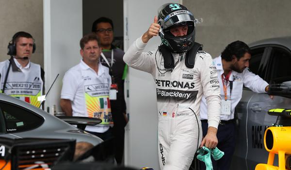 F1. Clasificación GP México: Rosberg hace la pole
