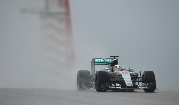 F1. Libres 3 GP EEUU 2015: Hamilton en pole provisional