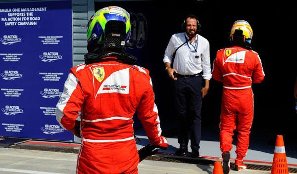 Felipe Massa - Fernando Alonso - GP Italia 2013
