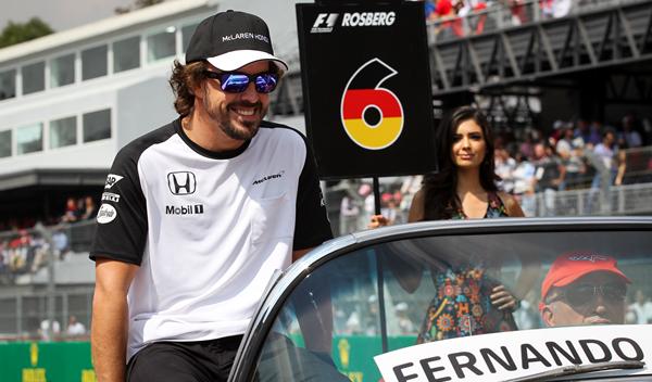 Fernando Alonso abandona en la primera vuelta en México