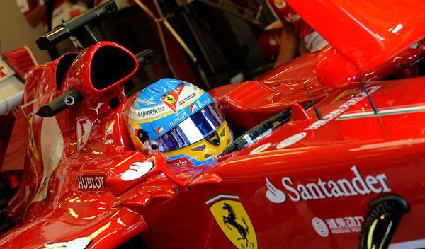 Fernando Alonso - Ferrari - Hungria 2013