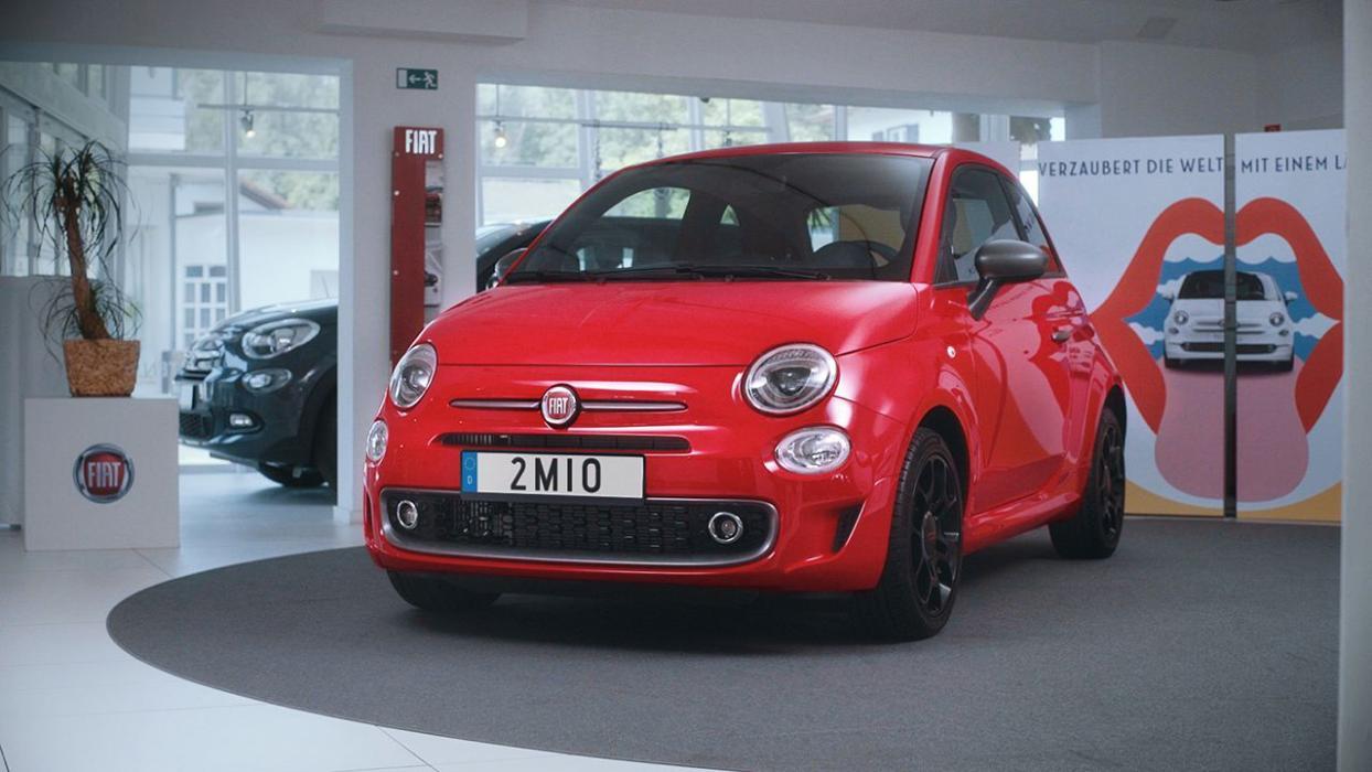Fiat 500 número 2 millones