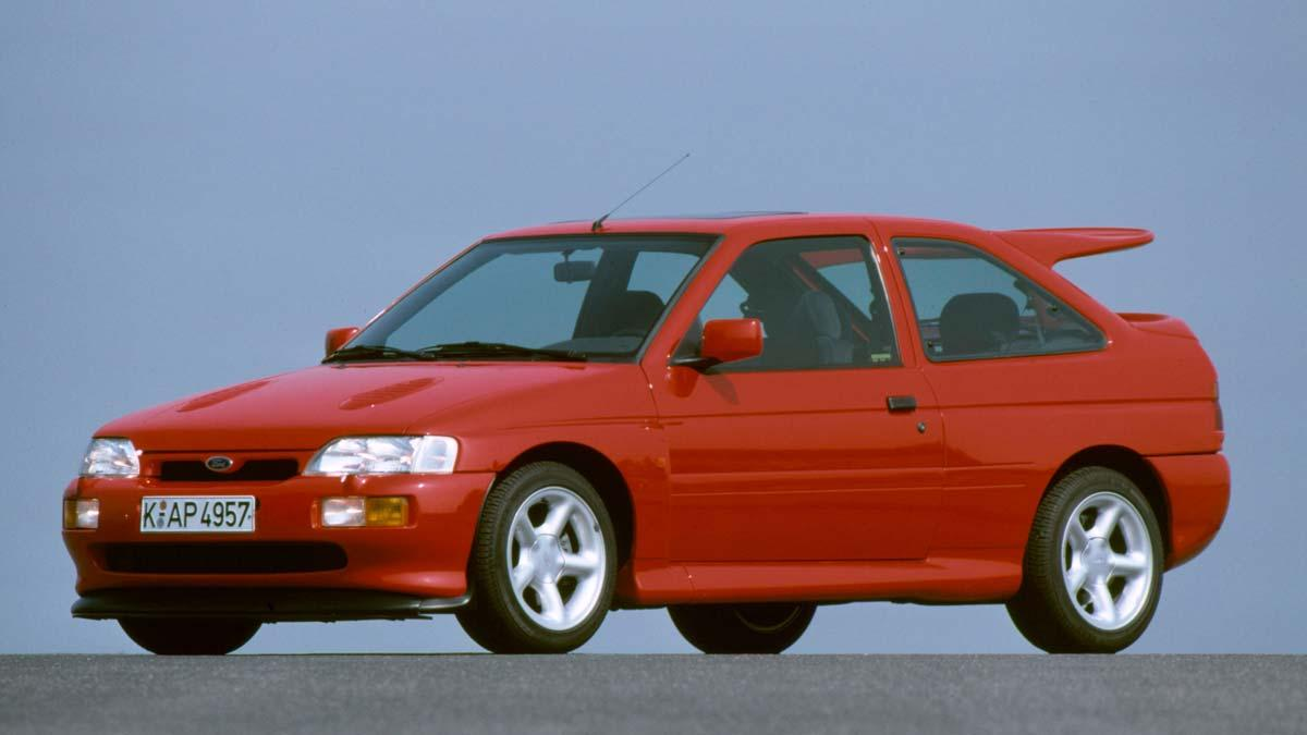 Ford Escort RS Cosworth compacto radical deportivo