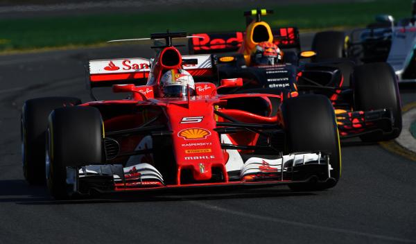 Fórmula 1. GP Australia 2017: Vettel bate a los Mercedes