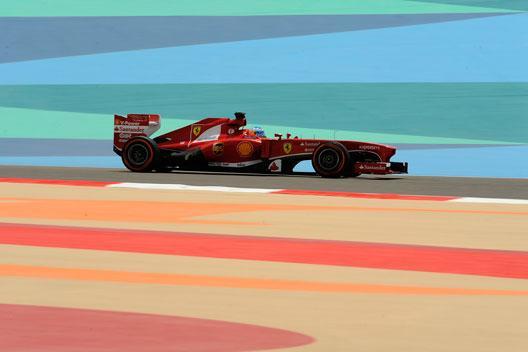 Fórmula 1: Libres 3 GP Bahréin 2013. Alonso, el más rápido