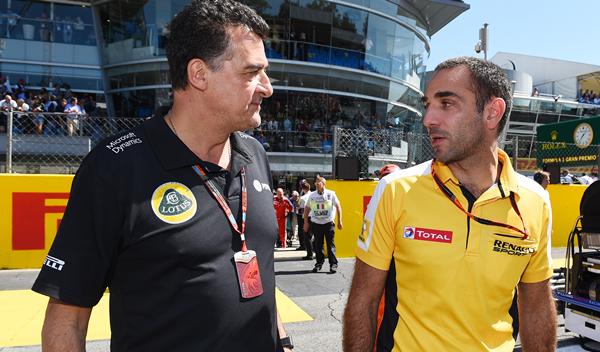 """Gastaldi: """"¿motor de Lotus en 2016? Renault"""""""