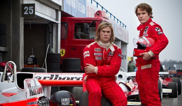 Globos de Oro: la película 'Rush' se queda sin premio