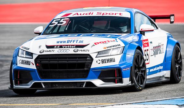 El hermano de Sebastian Vettel empieza a competir con Audi