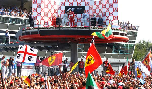 Los horarios de Antena 3 para el GP Italia F1 2014