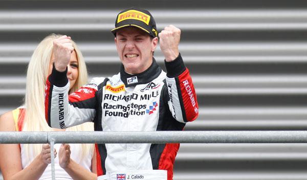 James Calado GP2 Belgica