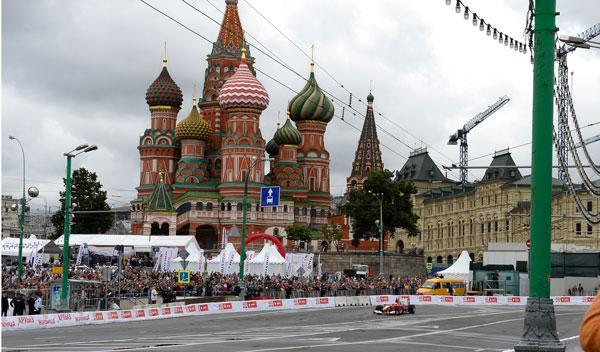 Kobayashi - Ferrari - Rusia - Moscu - F1