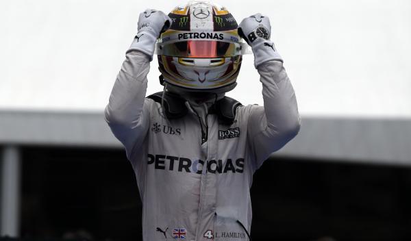 """Lewis Hamilton: """"cuando te rindes es cuando pierdes"""""""