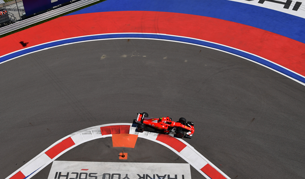 Libres 1 GP Rusia 2017: Räikkönen golpea primero