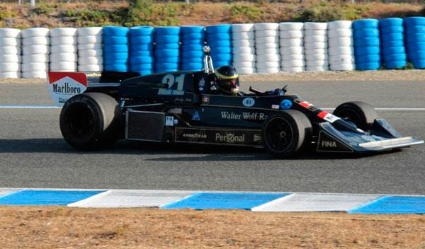 Lotus 77 F1 historica - Circuito Jerez